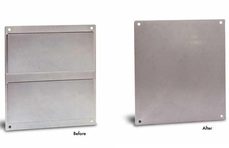 Embossed Steel Panel